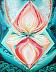 "Earth-Star-Gate by Bettina Star-Rose Acrylic ~ 28"" x 22"""
