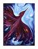 "Phoenix Creation Rising, Fine Art print by Bettina Star-Rose archival ink printed ~ 15"" x 12"""