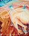 "Sacred Dreamer by Bettina Star-Rose Acrylic ~ 20"" x 16"""