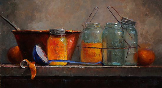 Making Marmalade - Oil