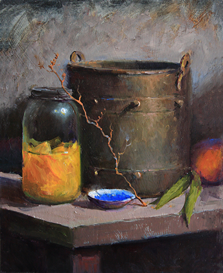 Canned Peaches - Oil