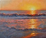 Blinding by Carole Mayne Oil ~ 16 x 20