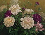 Garden Gems by Carole Mayne Oil ~ 16 x 20