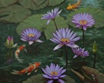 Water Garden by Carole Mayne Oil ~ 16 x 20