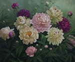 Shades of Spring by Carole Mayne Oil ~ 20 x 24