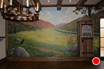 Custom Colorado Mural by Carole Mayne Acrylic ~ 9' x 23'