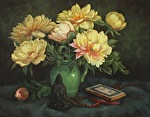 Taking Her Name by Carole Mayne Oil ~ 16 x 20