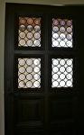 Blenko Rondel Entry Doors by Carole Mayne Glass ~  x