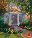 Wishing Well by Carole Mayne Oil ~ 24 x 20