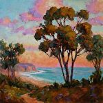 California Dreamin' by Carole Mayne Oil ~ 12 x 12