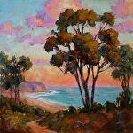 California Dreamin' by Carole Mayne Oil ~ 12 x 12
