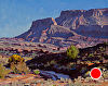 East of Moab by Mark Haworth Oil ~ 8 x 10