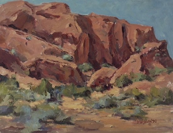 Valley of Fire - Oil