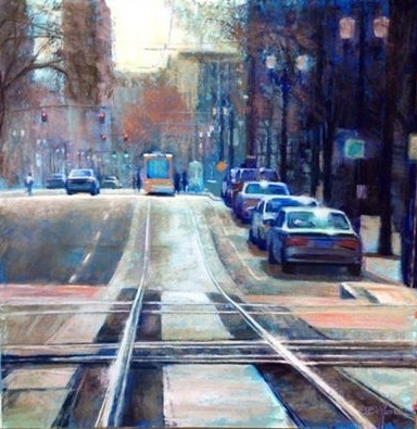 The Blue Line - Oil