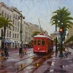Alan Flattmann - PAINTING CITYSCAPES, ABBEY ART WORKS