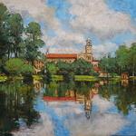 Alan Flattmann - ABBEY ART WORKS, LANDSCAPE PAINTING WORKSHOP & RETREAT