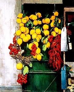 "Lemons by Alan Flattmann Pastel ~ 30"" x 24"""