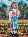 "The Little Fraulein by Brent McCarthy Oil ~ 24"" x 20"""