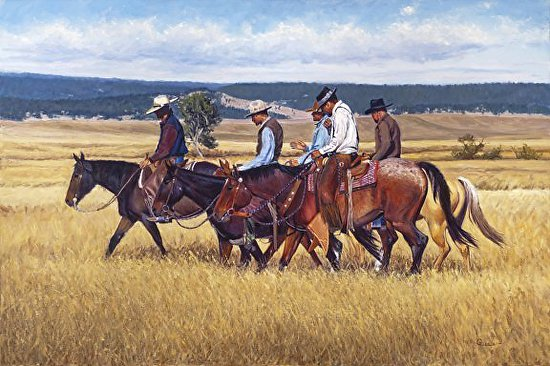 The Ranch Posse - Oil