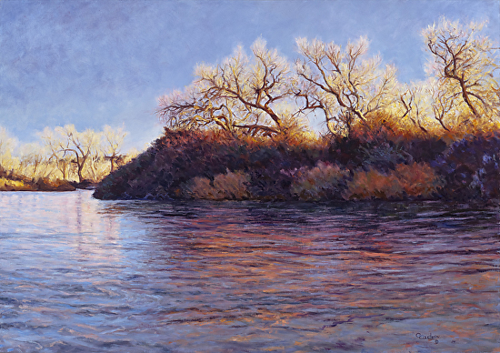 Rivers' Last Light - Oil