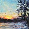 Robinson Bayou Sunset I