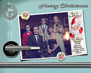 The Nelson Family Christmas Cards 1999-present