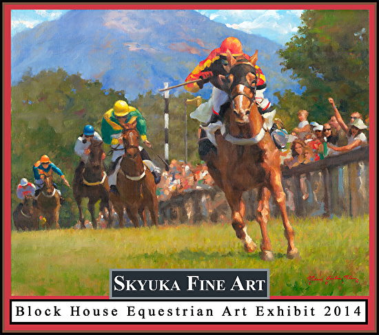SFA Block House Equestrian Art Exhibit 2014 logo small -