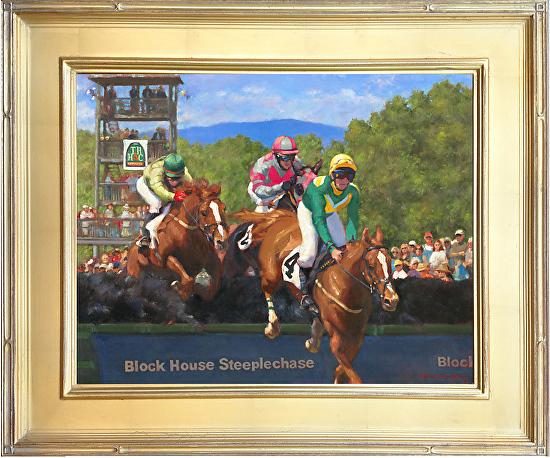 Framed Steeplechase Block House RCN 2015 -