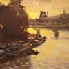 Seine Sunset