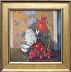 Still Life with Red Vase Framed_edited-1 by Richard Oversmith