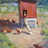 Little Red Chicken Coop