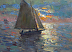 Sailing 12x16 by Richard Oversmith
