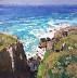 Summer Surf, Cornwall by Richard Oversmith
