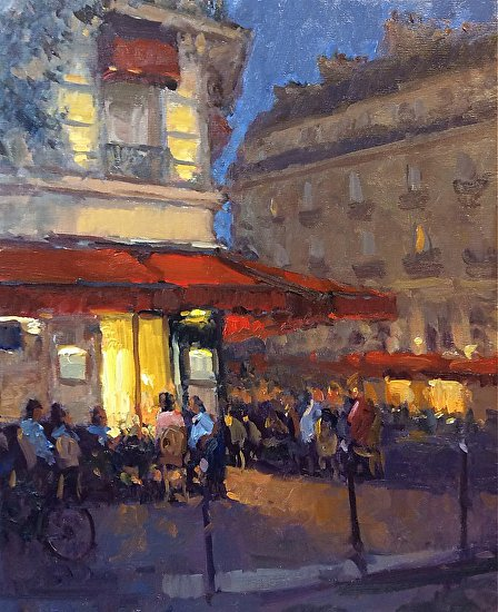 Paris at Night 24x20 -