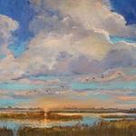 Doloris J. Pederson - Doloris Pederson Paints The Wetlands