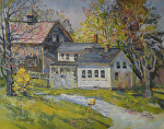 A Spring Morning in Maine by Dennis Poirier Oil ~ 16 x 20