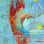 Cheryl Waale - Expressive Figures with mixed media