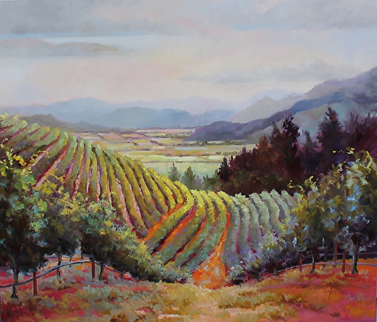 Vineyards and Beyond - Oil
