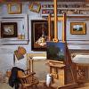Studio Interior with Nocturne