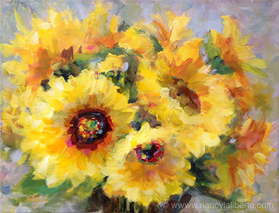 Full of Sunshine - Acrylic
