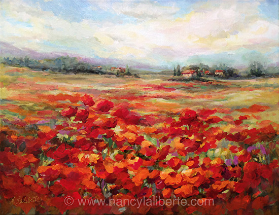 Poppy Love - Acrylic