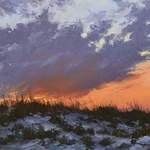 Dottie T Leatherwood - Painting Dramatic Skies in the Studio