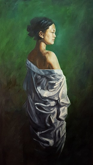 The White Robe - Oil