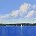 September Sail, Eggemoggin Reach by Carolyn Walton