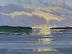 Shimmering Light, Deer Isle Thoroughfare by Carolyn Walton