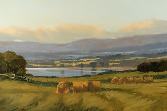 Champlain Valley Pastoral - Oil