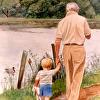 Grandpa & Grandson