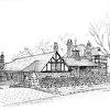 Larchmont Historical House Portrait