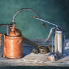 "My-Repair-Kit by Pete Quaid Oil ~ 11"" x 14"""