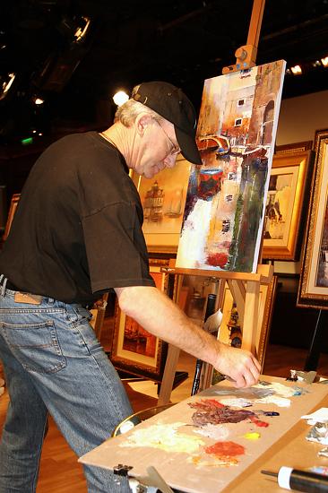 James Pratt palette knife artist -